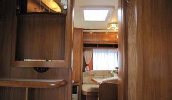 Hobby 440 SF, r.v.2008 + mover + před stan + zadní nosič kol plná