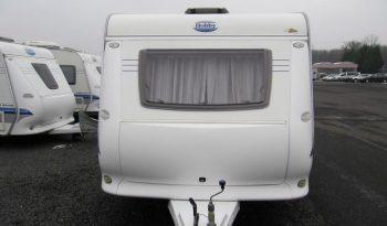 Hobby 440 SF, r.v.2008 + nový elpojezd REICH + nový před stan + zadní nosič kol + propojení trakční baterie do karavanu plná