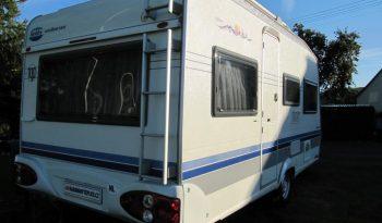 Hobby 450 UF, r.v.2003 + elektrický pojezd + kompletní před stan + lehký stan plná