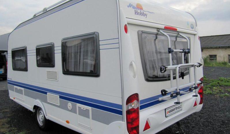 Hobby 460 UFE, model 2008 + mover + před stan + zadní nosič kol plná