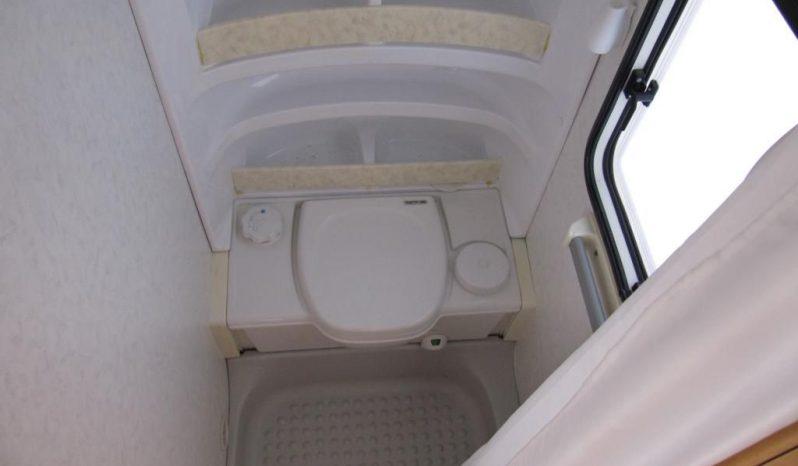 Hobby 460 UFE, r.v.2001 + před stan + zadní nosič 2 kol plná