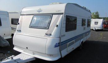 Hobby 495 UFE, model 2002 + kompletní před stan DOREMA + zadní nosič kol plná