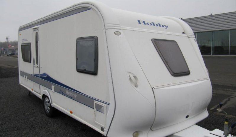 Hobby 540 UFE, model 2010 + kompletní před stan včkoberců do před stanu plná