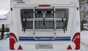 Hobby 540 UFE, r.v2009 + mover + před stan plná