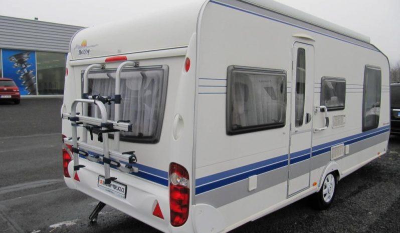 Hobby 540 UFF, model 2008 + mover + před stan plná