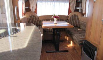 Hobby 540 UFF, r.v.2011 + mover + před stan plná