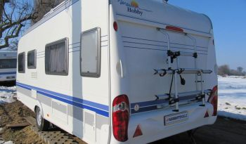 Hobby 540 WLU, r.v2008 + mover + před stan + zadní nosič kol plná