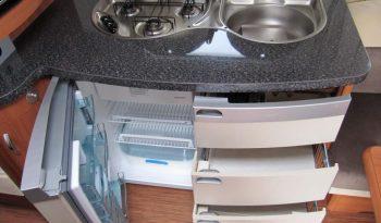 Hobby 540 WLU, r.v.2010 + elektrický pojezd + kompletní před stan + přední nosič kol plná