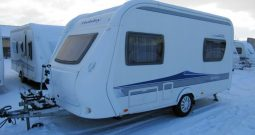 Hobby 440 SF, model 2010 + mover + před stan.