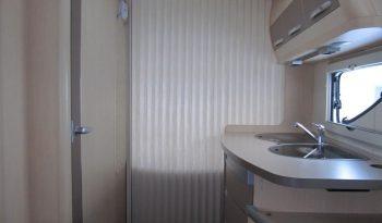 Hobby 455 SF, model 2010 + mover + před stan plná