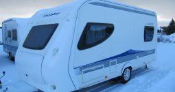 Hobby 455 SF, model 2010 + mover + před stan