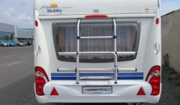 Hobby 495 UL, model 2008 + mover + před stan plná