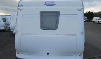 Hobby 495 UFE, model 2005 + mover + před stan plná