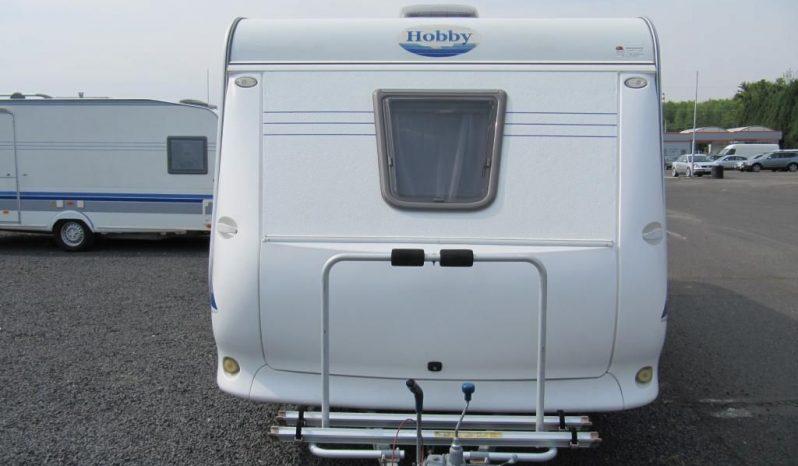 Hobby 500 KMFE, r.v.2005 + před stan + nosič kol plná