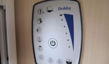Hobby La Vita 455 SF, r.v.2011 + mover + stan plná