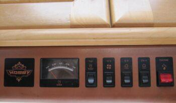 Hobby 440 SFE, r.v.1998 + mover + před stan plná