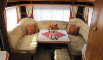 Hobby 560 UL, r.v.2008 + mover + před stan plná