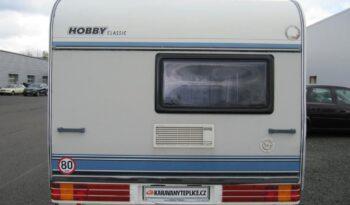 Hobby 350 TB, r.v.1995 + před stan + nosič kol plná