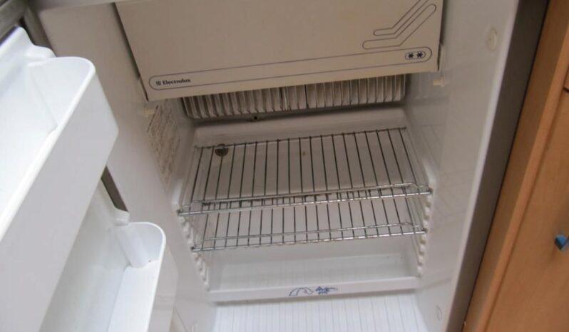 Hobby 495 UK, r.v.1999 + před stan + nosič kol plná