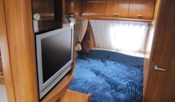 Hobby 495 UFE, r.v.2008 + mover + předstan plná